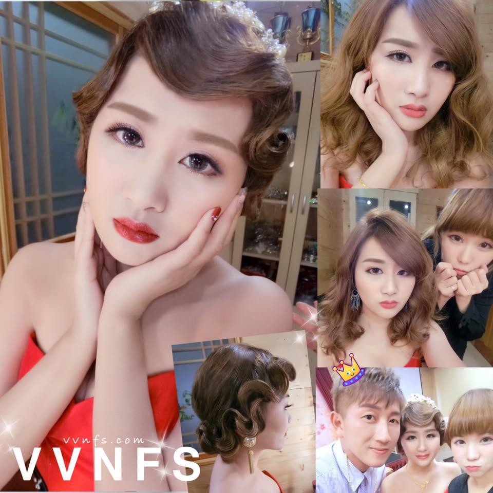 秀琴組圖-VVNFS新秘台南新娘造型