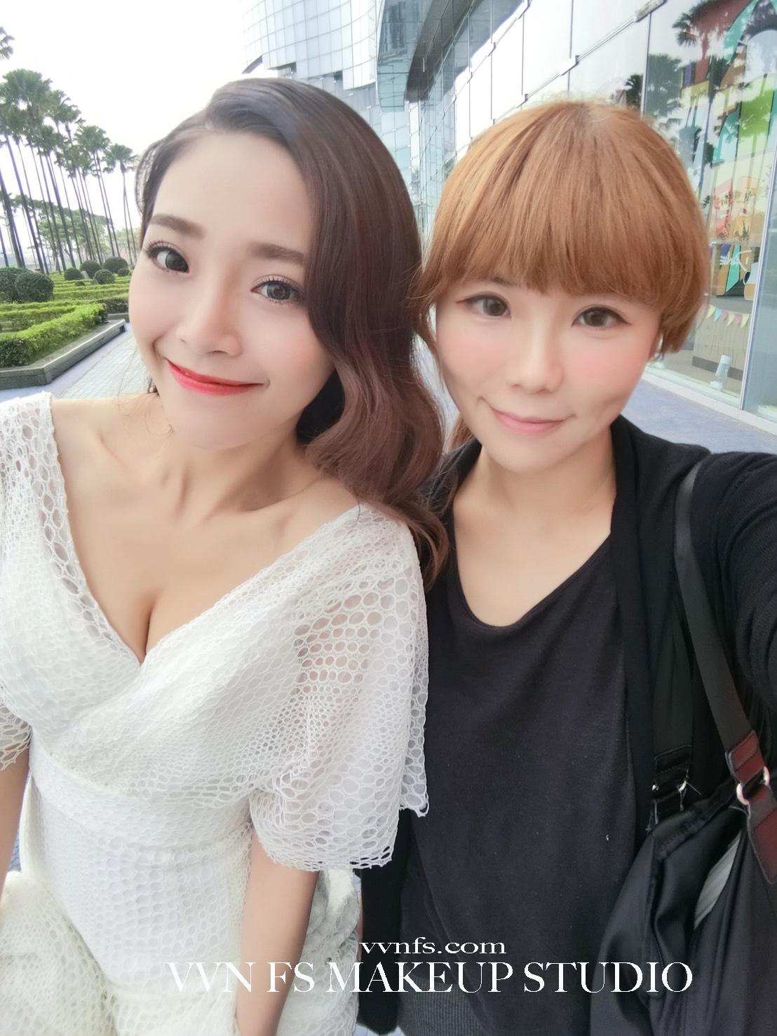 新娘物語雜誌梳化-台南新秘VVNFSX姵玟