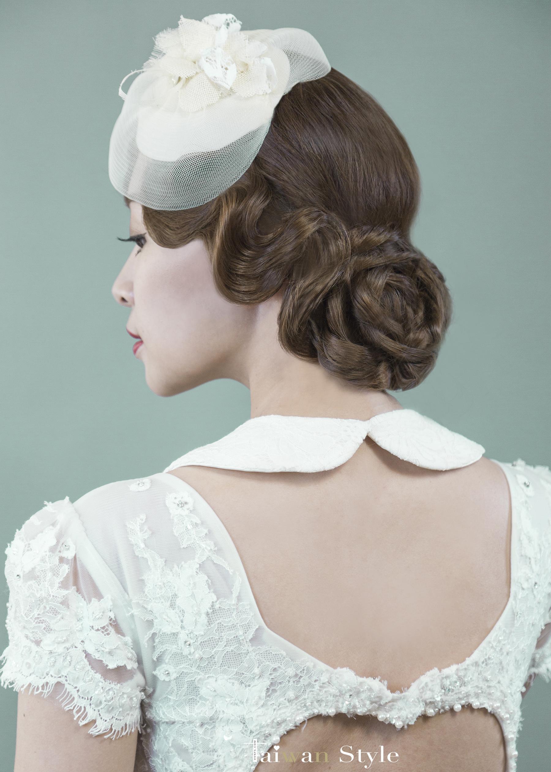 看見台灣百年婚紗之美-1940復古民初-新娘物語 x VVNFS方美玉台南新秘3