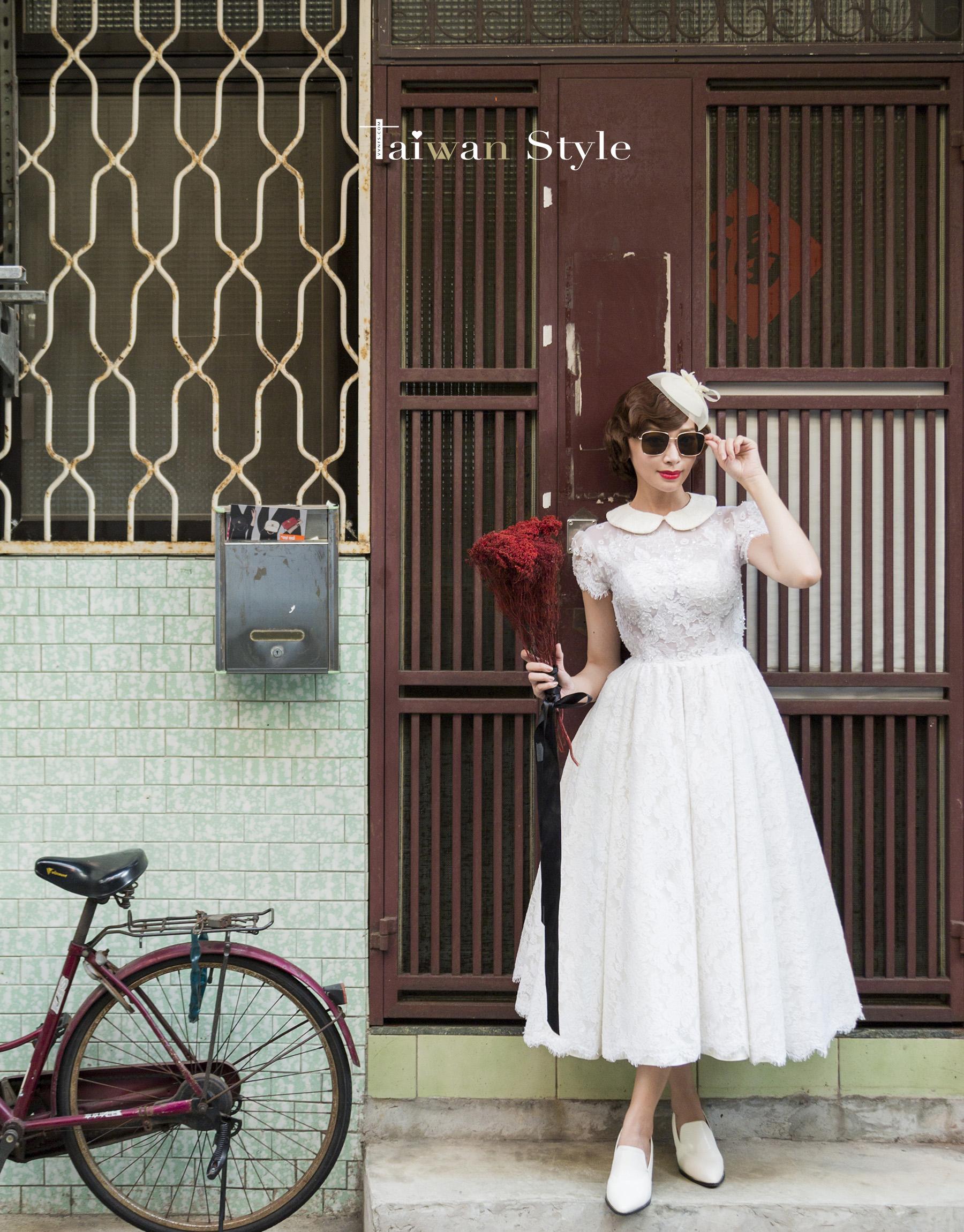 看見台灣百年婚紗之美-1940復古民初-新娘物語 x VVNFS方美玉台南新秘5