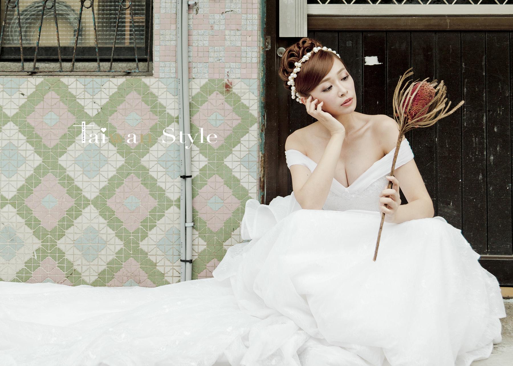 看見台灣百年婚紗之美-2000姐姐時代-新娘物語 x VVNFS方美玉台南新秘5