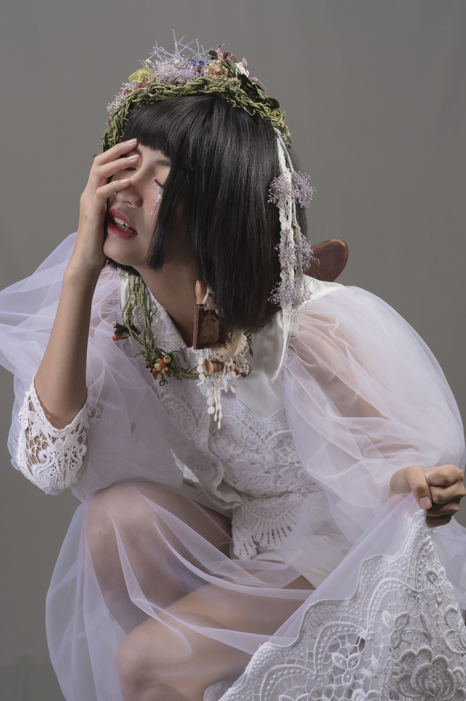 :新娘物語雜誌創意妝髮單元新娘秘書妝髮教學課程-VVNFS方美玉余虹玟 14