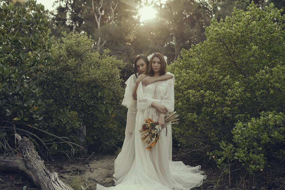 VVNFS團隊創作白紗新娘造型03