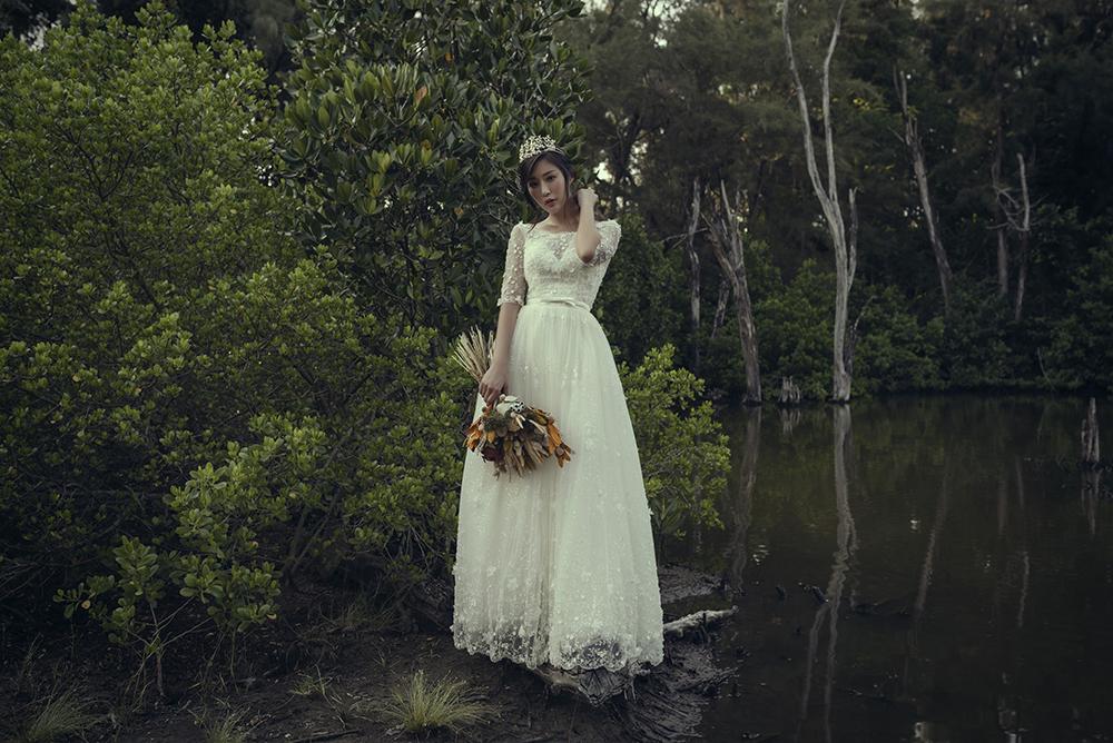 VVNFS團隊創作白紗新娘造型07