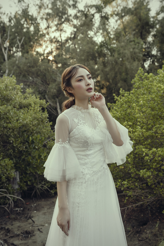 VVNFS團隊創作白紗新娘造型09