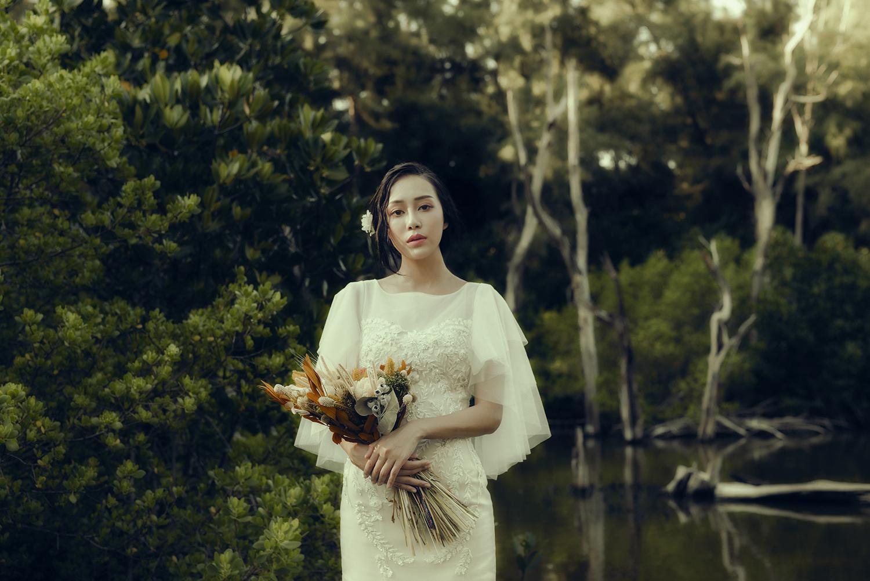 VVNFS團隊創作白紗新娘造型31