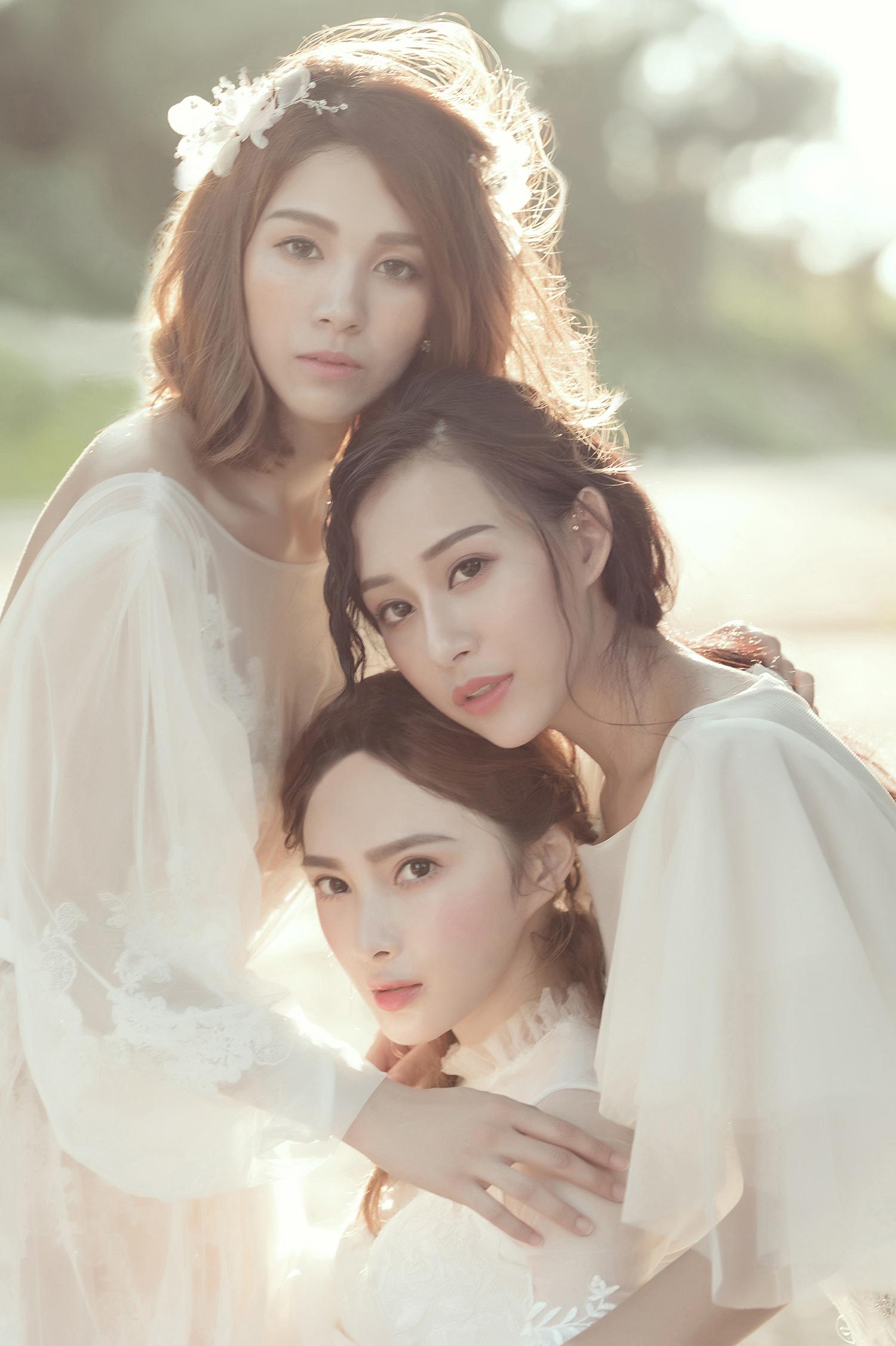 VVNFS團隊創作白紗新娘造型39