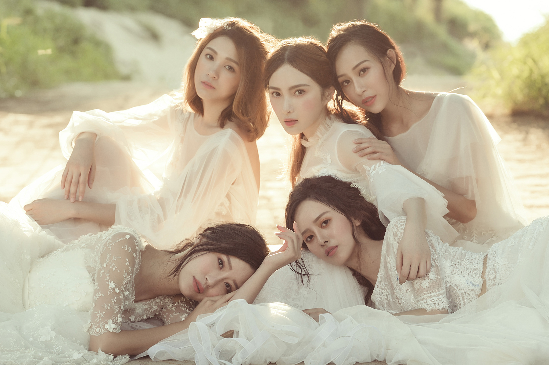 VVNFS團隊創作白紗新娘造型40