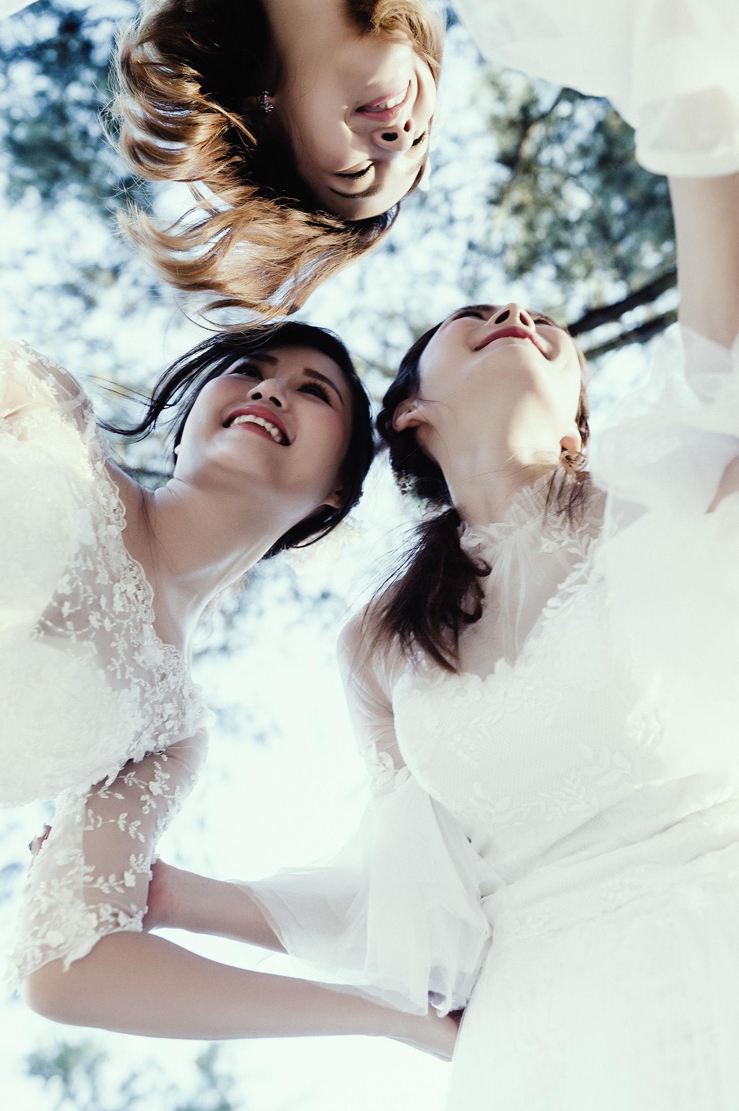 VVNFS團隊創作白紗新娘造型54